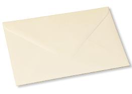 cream envelope